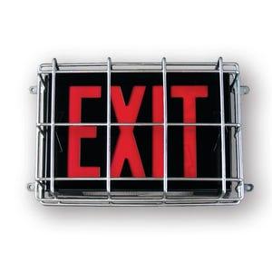 Exit Light Guard,  13-1/2in.  X 10-1/2in.  X 3in. Deep